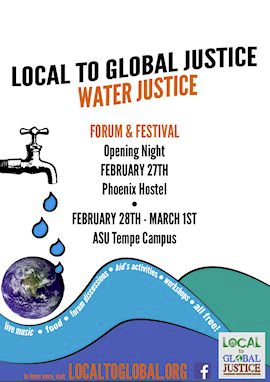 2015 Local to Global Justice Forum and Festival program cover