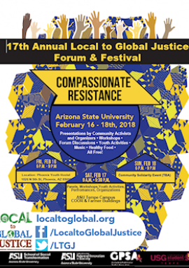 2018 Local to Global Justice Forum and Festival